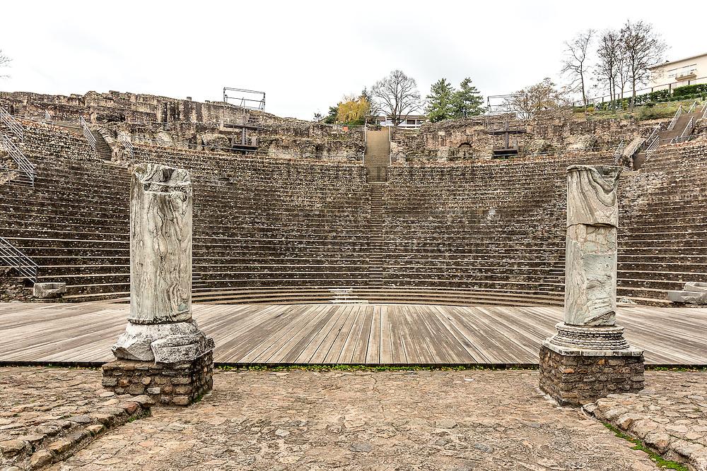 Amphitéatre Romain de Fourvière // Roman amphiteatre of Fourviere