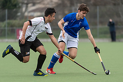 Clifton Robinsons v Cheltenham - Men's Hockey League West Conference, Coombe Dingle, Bristol, UK on 07 April 2018. Photo: Simon Parker