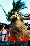 Polynesian Hula Dancer, Hawaii