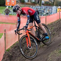 12-01-2020: Wielrennen: NK Veldrijden: Rucphen <br />Annemarie Worst