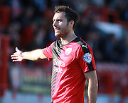 Crawley Town midfielder Ross Jenkins during the Sky Bet League 2 match between Crawley Town and Accrington Stanley at the Checkatrade.com Stadium, Crawley, England on 26 September 2015. Photo by Bennett Dean.