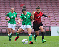 Women U19 Elite: Ireland 0 - 2 Turkey : 8th April 2018