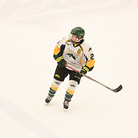 5th year forward Kylee Kupper (21) of the Regina Cougars in action during the Women's Hockey home game on February 9 at Co-operators arena. Credit: Arthur Ward/Arthur Images