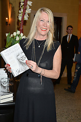 CAROLE WHITE at a party to celebrate the publication of 'Have I Said Too Much' by Carole White held at the Cafe Royal, Regents Street, London on 18th February 2015.