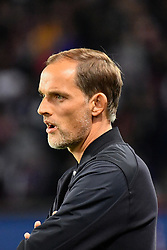 October 7, 2018 - Paris, ile de france, France - Thomas Tuchel during the french Ligue 1 match between Paris Saint-Germain (PSG) and Olympique Lyonnais (OL, Lyon) at Parc des Princes stadium on October 7, 2018 in Paris, France. (Credit Image: © Julien Mattia/NurPhoto/ZUMA Press)