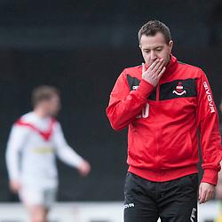 Stephen Findlay sacked, Airdie, 8 October 2018