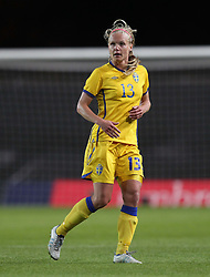 17.05.2011, Kassam Stadium, Oxford, ENG, FIFA WOMENS WORLDCUP 2011, FSP, England vs Sweden im Bild Elin Ekblom Bak of Sweden Women // during the International Friendly Match, England vs Sweden, for FIFA Women´s World Championship 2011 in Germany, Kassam Stadium, Oxford, 2011/05/17, EXPA Pictures © 2011, PhotoCredit: EXPA/ M. Atkins *** OUT OF UK! ***