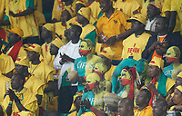 Photo: Steve Bond/Richard Lane Photography.<br />Mali v Benin. Africa Cup of Nations. 21/01/2008. FAns of the Mighty Squirrels get ready