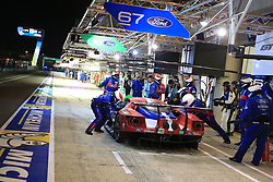 June 18, 2017 - Le Mans, Sarthe, France - Ford Chip Ganassi Team Michelin Ford GT.ANDY PRIAULX (GBR) in the pit lane for refueling during the race of the 24 hours of Le Mans on the Le Mans Circuit - France (Credit Image: © Pierre Stevenin via ZUMA Wire)
