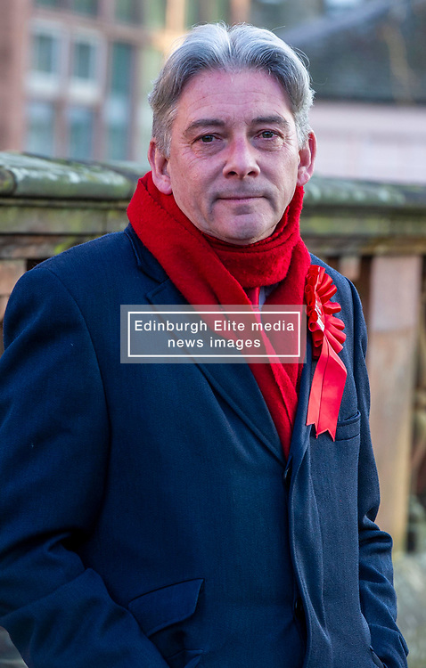 Pictured: Rixchard Leonard<br /><br />Richard Leonard visited Edinburgh's Royal Hospital for Sick Children today to highlight the risks to our NHS and outline Labour's plans to invest in and revive our health service.<br /><br />Ger Harley | EEm 9 December 2019