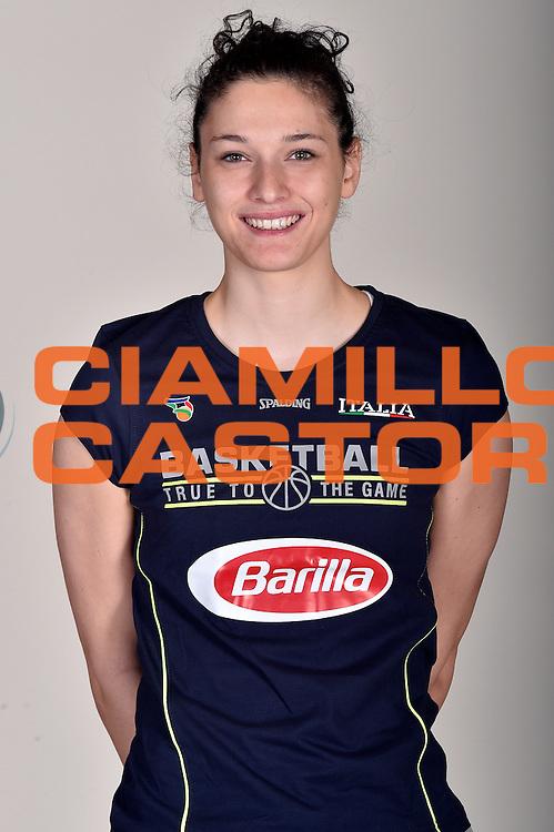 Cecilia Zandalasini<br /> Posati Nazionale Italiana Femminile Senior<br /> FIP Nazionali 2017<br /> Montegrotto Terme, 27/02/2017<br /> Foto Ciamillo-Castoria