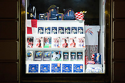 Football shop in Zagreb during EURO 2016 1/8 Final match between Croatia and Portugal, on June 24, 2016 in Zagreb, Croatia. Photo by Vid Ponikvar / Sportida