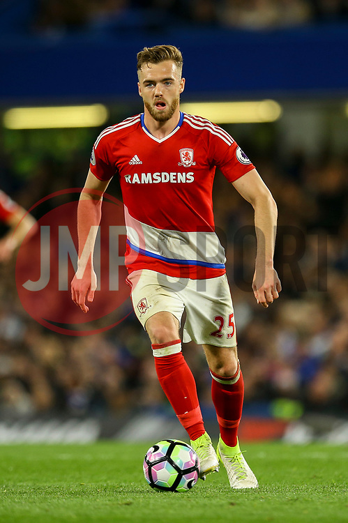Calum Chambers of Middlesbrough - Mandatory by-line: Jason Brown/JMP - 08/05/17 - FOOTBALL - Stamford Bridge - London, England - Chelsea v Middlesbrough - Premier League