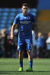 SAM BALDOCK BRIGHTON AND HOVE ALBION, Aston Villa v Brighton &amp; Hove Albion Sky Bet Championship Villa Park, Brighton Promoted to Premiership Sunday 7th May 2017 Score 1-1 <br /> Photo:Mike Capps