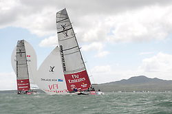 LVPS Final Auckland 13.2.09, Alinghi win the start and the race