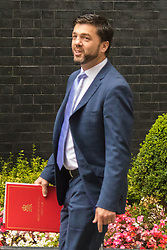 Downing Sreet, London, July14th 2015. Welsh Secretary Stephen Crabb arrives at 10 Downing street for the government's weekly cabinet meeting.