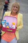 ***Repro Free*** Release 30/04/2014 Bray Co Wicklow: TV3s Sybil Mulcahy is All Set for Summer with ClonMedica and A New Home!<br />  <br /> TV3's Sybil Mulcahy is all set for a stressfree Summer with the ClonMedica Summer Range of products including Travel Pops, ITITCHeze and CaldeSun AND after finally buying her dream home in Killiney after over three years of searches and disappoints.<br />  <br />  All from ClonMedica, Travel Pops take the discomfort out of travelling for kids by settling the tummy during travel - helping to ensure a trouble free journey, whilst CaldeSun protects young skin from harmful sunrays with its 50 SPF 200ml Spray.  Itcheze helps sufferers from prickly heat by using a revolutionary new approach to cooling & soothing skin.<br />  <br /> For further information or to talk to Sybil Mulcahy, please contact Ann-Marie Sheehan, Aspire PR, Telephone : 087 2985569 / 01 8275181 or email annmarie@aspire-pr.com