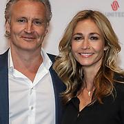 NLD/Amsterdam/20150302 - Uitreiking TV Beelden 2015, Erland Galjaard en partner Wendy van Dijk