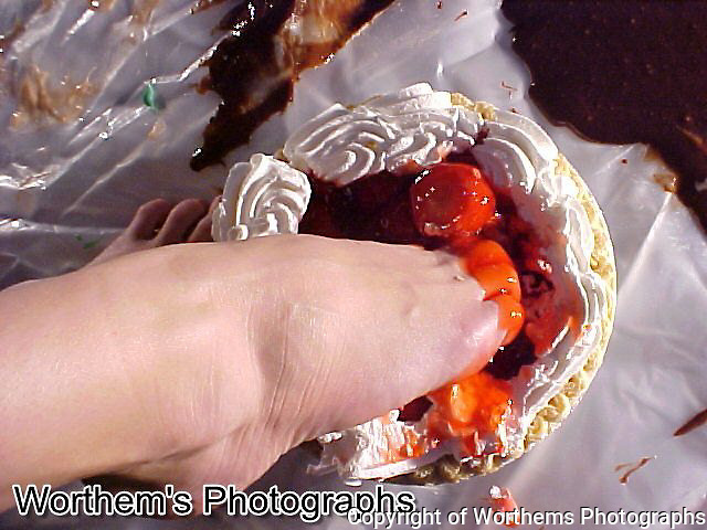 Want some strawberry pie?