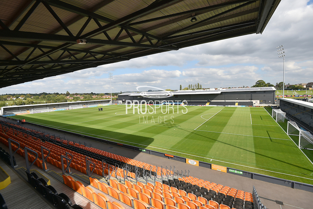 The Hive stadium before the Sky Bet League 2 match between Barnet and Dagenham and Redbridge at Hive Stadium, London, England on 26 September 2015. Photo by Ian Lyall.