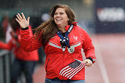 Olympic Trials Eugene 2012: Hammer Throw Olympic team member Amanda Bingson