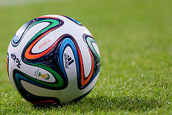 Ball during football match between FC Koper (SLO) and Celik Niksic (MNE) in 2nd Leg of 1st Round of Qualification UEFA Europa League 2015 on July 10, 2013 in Bonifika, Koper, Slovenia. Photo by Urban Urbanc / Sportida
