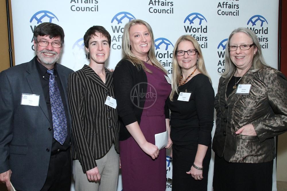 World Affairs Council World Citizen and World Educator awards, 2012.