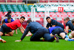 Leon Brown takes part in the training session - Photo mandatory by-line: Ryan Hiscott/JMP - 29/10/2018 - RUGBY - Principality Stadium - Cardiff, Wales - Autumn Series - Wales Rugby Open Training Session