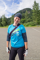 United States, Washington, Snoqualmie Pass, John Wayne Pioneer Trail, annual Mountains to Sound Greenway Trust Tunnel Ride