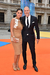 Jean-David Malat and wife Nani at the Royal Academy of Arts Summer Exhibition Preview Party 2017, Burlington House, London England. 7 June 2017.
