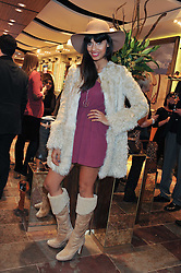 JAMEELA JAMIL at a party to celebrate the opening of the new UGG Australia Flagship store at 5-7 Brompton Road, London on 2nd November 2011.