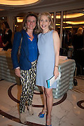 LAURENCE COSTE; JOLANA VAINIO, The Foreign Sisters lunch sponsored by Avakian in aid of Cancer Research UK. The Dorchester. 15 May 2012