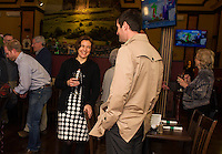Laconia Planning Manager Shanna Saunders reception in her honor at the Holy Grail.  Karen Bobotas for the Laconia Daily Sun