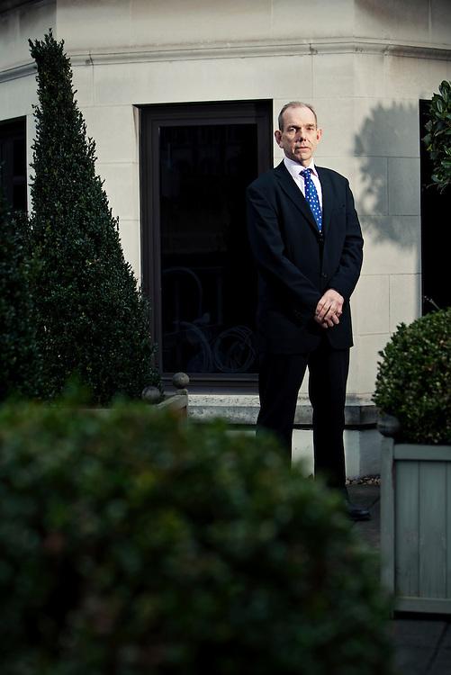 Chris Blackham, photographed in London 22nd February 2010