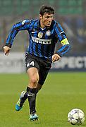 © Filippo Alfero<br /> Inter vs Lille - Champions League 2011 / 2012<br /> Milano, 02/11/2011<br /> sport calcio<br /> Nella foto: Javier Zanetti