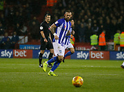 Sheffield Wednesday forward Steven Fletcher (9)  during the EFL Sky Bet Championship match between Sheffield United and Sheffield Wednesday at Bramall Lane, Sheffield, England on 9 November 2018.