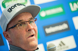 Stane Baloh, head coach during press conference of Slovenian Ski jumping Women team before new season 2015/16, on December 1, 2015 in Cristal palace, BTC, Ljubljana, Slovenia. Photo by Vid Ponikvar / Sportida