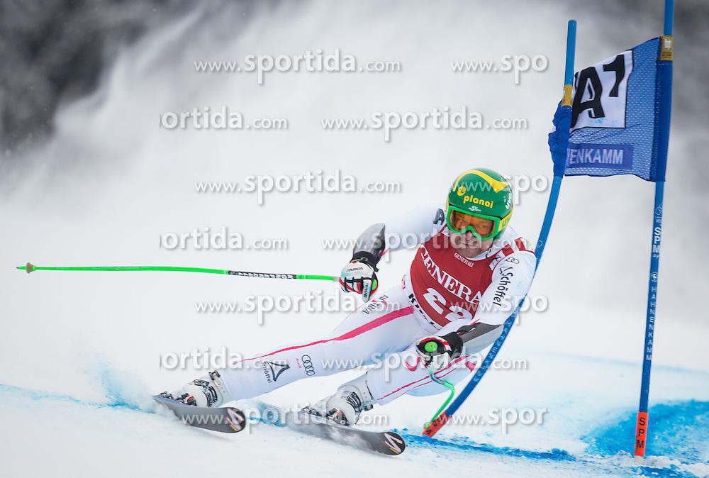 25.01.2013, Streif, Kitzbuehel, AUT, FIS Weltcup Ski Alpin, Super G, Herren, im Bild Silvan Zurbriggen (SUI) // Silvan Zurbriggen of Switzerland in action during mens SuperG of the FIS Ski Alpine World Cup at the Streif course, Kitzbuehel, Austria on 2013/01/25. EXPA Pictures © 2013, PhotoCredit: EXPA/ Johann Groder