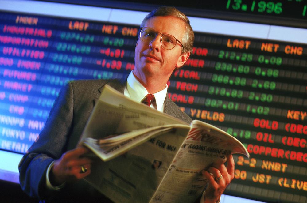 Executive portrait, Gordon Crawford, Capital Group Investments.