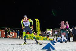 18.01.2019, Biathlonzentrum, Obertilliach, AUT, Dolomitenlauf, Dolomitensprint, im Bild Tobias Riedlsperger (AUT) // during the sprint competition of the Dolomitenlauf at the Biathlonzentrum in Obertilliach, Austria on 2019/01/18. EXPA Pictures © 2019, PhotoCredit: EXPA/ Dominik Angerer