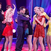 NLD/Hilversum/20130105 - 2de Liveshow Sterren Dansen op het IJs 2013, Afvallers Andy van Meyde en Jose Hoebee, Monique Sluyter en danspartner mogen blijven