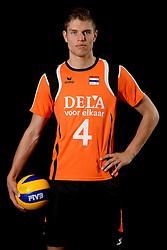 25-04-2013 VOLLEYBAL: NEDERLANDS MANNEN VOLLEYBALTEAM: ROTTERDAM<br /> Selectie Oranje mannen seizoen 2013-2014 / Thijs ter Horst<br /> ©2013-FotoHoogendoorn.nl