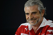 April 15-17, 2016: Chinese Grand Prix, Shanghai, Maurizio Arrivabene, team principal of Scuderia Ferrari