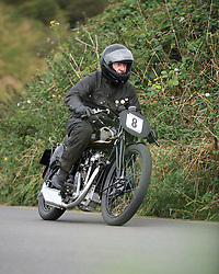 © Licensed to London News Pictures. 16/09/2012..Saltburn, England..A speed and time trial event featuring veteran and vintage cars and motor cycles takes place in the Cleveland town of Saltburn by the Sea. ..The event is organised by Middlesbrough and District Motor Club and the Motor Sports Association...Photo credit : Ian Forsyth/LNP