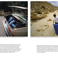 "Portfolio spread in ""Regards"", a French quarterly publication dedicated to political, cultural and social commentary. Page 3 of 4"
