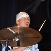 Harpengala 2003, Zilveren Harp winnaar, relax, drummer Jonas Filtenborg