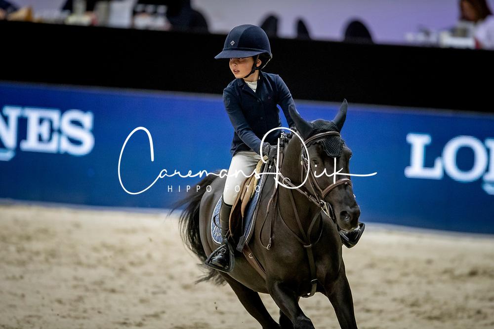 Linssen Liv, NED, Jack of Hearts<br /> JIM Maastricht 2019<br /> Limmy Middag Euregio Jumping Ponies<br /> © Hippo Foto - Dirk Caremans<br />  09/11/2019