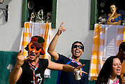 Tiradentes_MG, Brasil...Folioes no carnaval de Tiradentes...The tourists in Tiradentes carnival...Foto: LEO DRUMOND /  NITRO