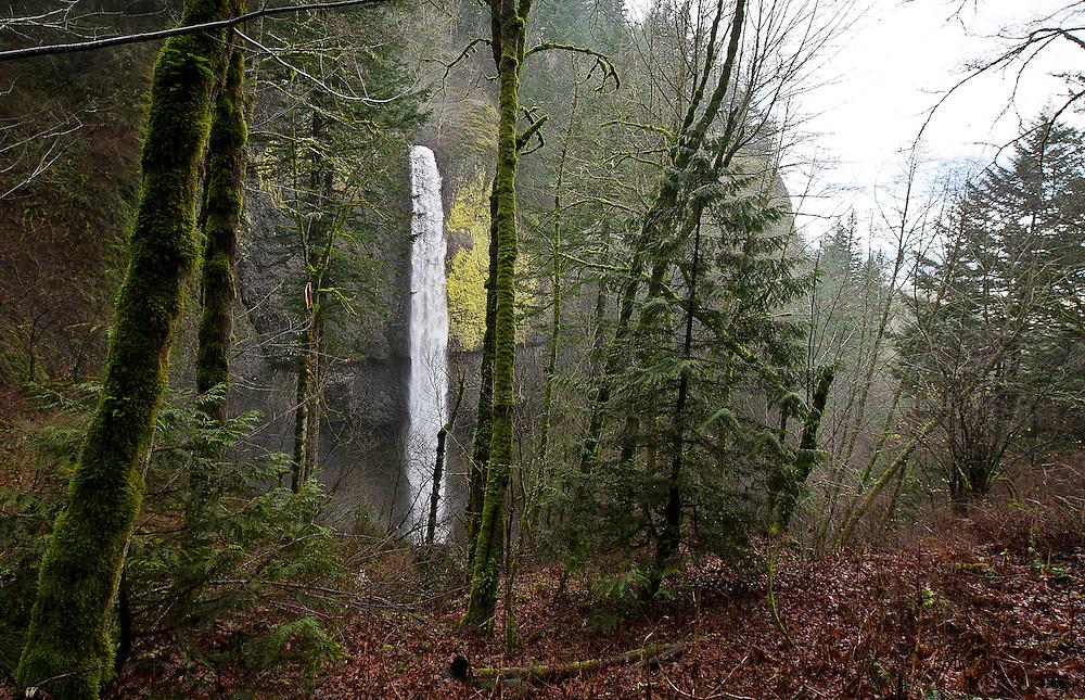 Falls in Oregon, Saturday, Dec. 22, 2012