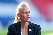 Scotland manager Shelley Kerr ahead of the International Friendly match between Scotland Women and Jamaica Women at Hampden Park, Glasgow, United Kingdom on 28 May 2019.